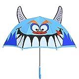 Olele Paraguas Infantil para Niño/Niña (Monstruo)