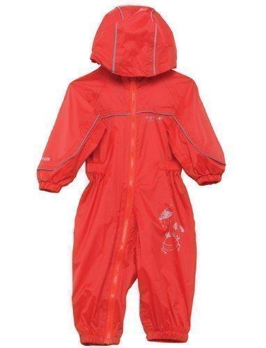 Preisvergleich Produktbild Regatta wasserdichter und leichtgewichtiger Kinder Regenanzug, Pepper (Rot), Gr.98/104