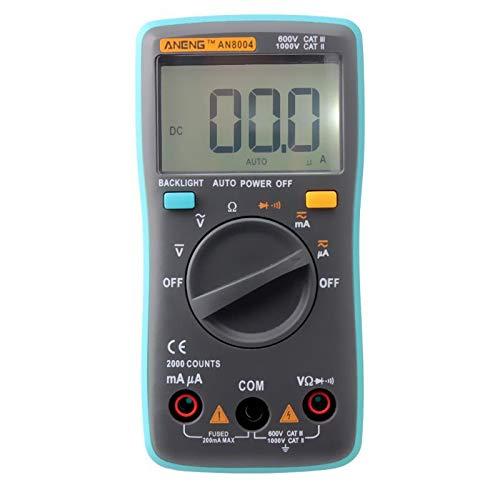 AN8004 1999 zählt LCD Digital Multimeter Voltmeter Amperemeter Widerstandstester DC/AC 750 / 1000V und Volt Ohmmeter