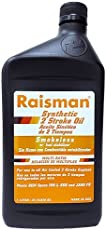 Raisman 2 Stroke Full Synthetic Oil, No-Smoke, 1 Liter JASO FD