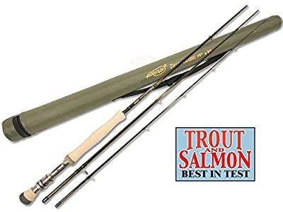 "Airflo Delta Classic Trout Fly Fishing Rod 10'6"" #7/8 3 pcs Ex Demo from Airflo"