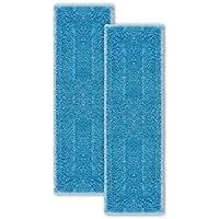 Polti Moppy PAEU0342 - Kit de 2 paños universales de microfibra, color azul