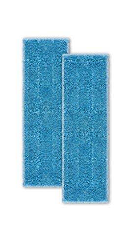 Polti Moppy Kit de 2 Serpillières pour le Nettoyage de Tous les Sols et Surfaces Verticales, Microfibres avec Haute Performance d'Absorption
