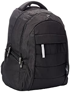American Tourister Polyester Black Laptop Backpack