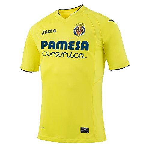 Joma 1ª Equipación Villarreal 2016/2017 - Camiseta Oficial, Talla S