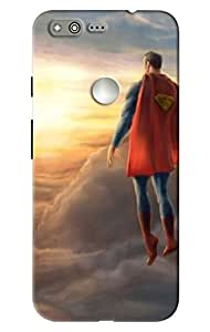 Google Pixel superhero print hard high quality mobile Back Cover Case best colour and best fitting cover and this is very popular mobile cover (NO-1 Seller in Amazon)