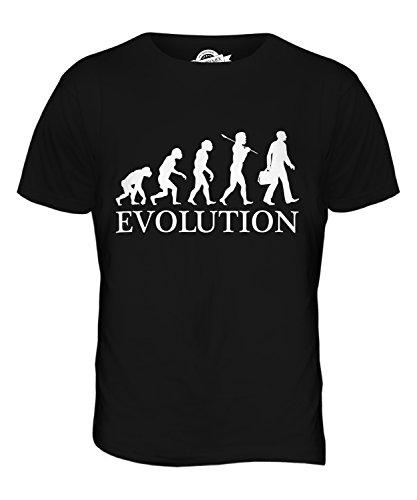 CandyMix Unternehmen Geschäftsmann Evolution Des Menschen Herren T Shirt Schwarz