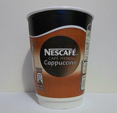 Nescafe & GO Cappuccino foil-sealed Cup für Getränke Maschine Ref 12144994[Pack 8]