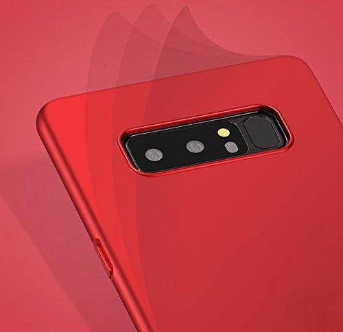Samsung Galaxy Note 8 Etui Coque Pacyer® Nouveau Ultra Slim Légère Case Cover Back Shell Bumper PC Antichoc Premium protective pour Samsung Galaxy Note 8 Smartphone Noir