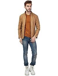 Derbenny Men's PU leather jacket