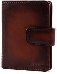 Bugatti-DOMUS RFID Kreditkartenetui (9 CC) 10x8x1 Cognac