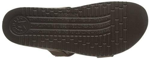 Mephisto Havila Sandalbuck 6051 Dark Brown, sandales ouvertes femme brun (DARK BROWN)