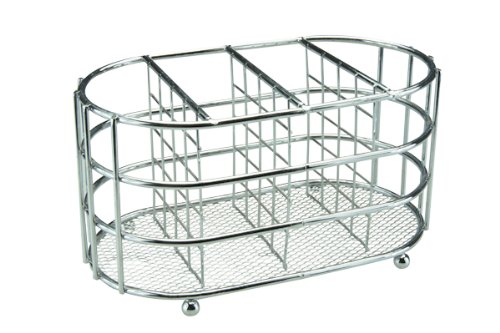 APOLLO 5661 - Chrome Cuttlery Caddy Oval in Chrome