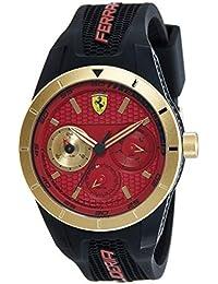 (Renewed) Scuderia Ferrari Analog Red Dial Men's Watch - 0830386