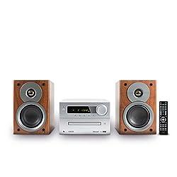 HAISER HSR 117 | 40 Watt RMS mit • CD-Player • Bluetooth • USB • Boxen • FM Radio | HiFi Component System