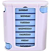 Yaldoendo Tablettenbox für 7 Tage Wochentage Pillendose Organizer Haushalt Kunststoff Medizinboxen Schubladen... preisvergleich bei billige-tabletten.eu