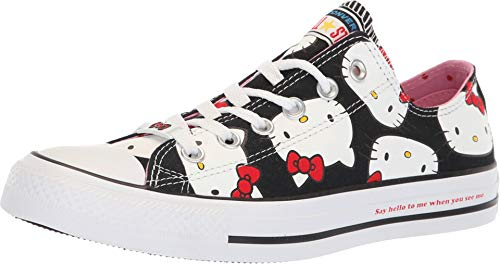 Converse Chuck Taylor All Star Lo Hello Kitty Fashion Sneakers