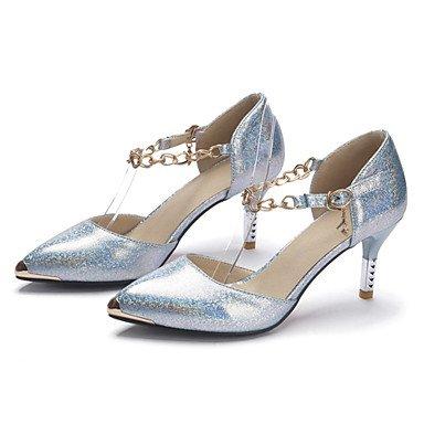 Zormey Frauen Heels Fr¨¹hling Sommer Club Schuhe D'Orsay & Amp Zweiteilige Lackleder Kundenspezifischen Materialien Hochzeit Party & Amp Abendkleid Stiletto-Absatz US4-4.5 / EU34 / UK2-2.5 / CN33 RgB3ni