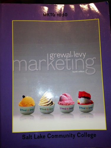 Marketing : Custom Edition for Salt Lake City Community College : MKTG 1030