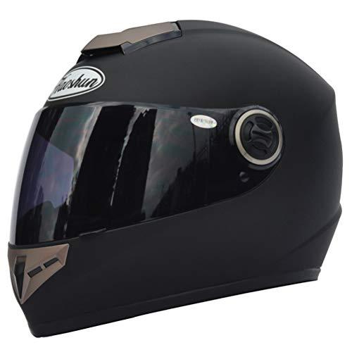 Erwachsene Heizung Motorrad Motorradhelm Unisex Antifogging Vollgesichtsschutzhelme Caps -