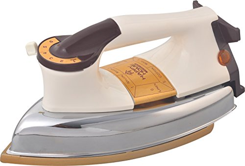Amikan Happy Home Automatic Heavy Weight Electric Iron || 1000 W || Heritage Design || Powerful Element || 1 Year Warranty || ISI Approved || Model Royal Plancha