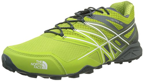 The North Face M Ultra MT, Zapatillas de Running para Hombre, Verde (Spruce Green / Macaw Green), 42 EU
