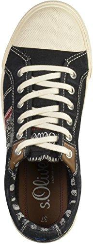 s.Oliver 5-53107-28 Jungen Sneakers Schwarz