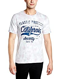 Cherokee Men's T-Shirt (8907542408849_271156947_Sky Blue_M_HS)