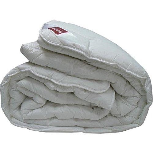 ABEIL Couette chaude Bio Confort Sensation 100% coton 200x200 cm blanc