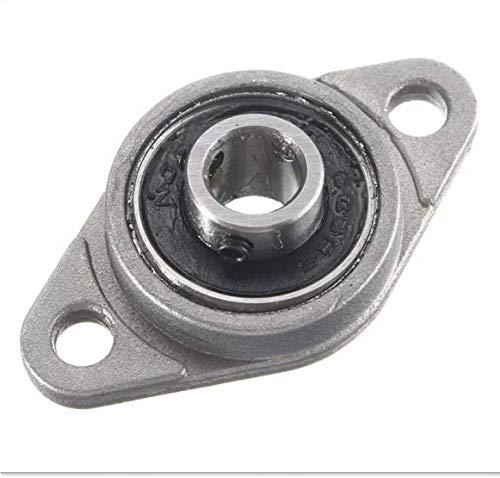 MYAMIA KFL Zinklegierung Kissenblock Flansch Kugel Lager 8/10/12/15/17mm Bohrung Durchmesser KFL Serie-8mm
