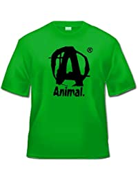 Universal Nutrition Animal T-shirt–Fitness (Vert, XL)