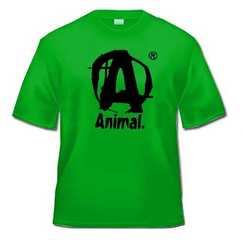 Universal Nutrition Animal T-Shirt - Fitness Shirt (Grün, M) (Animal Fitness)
