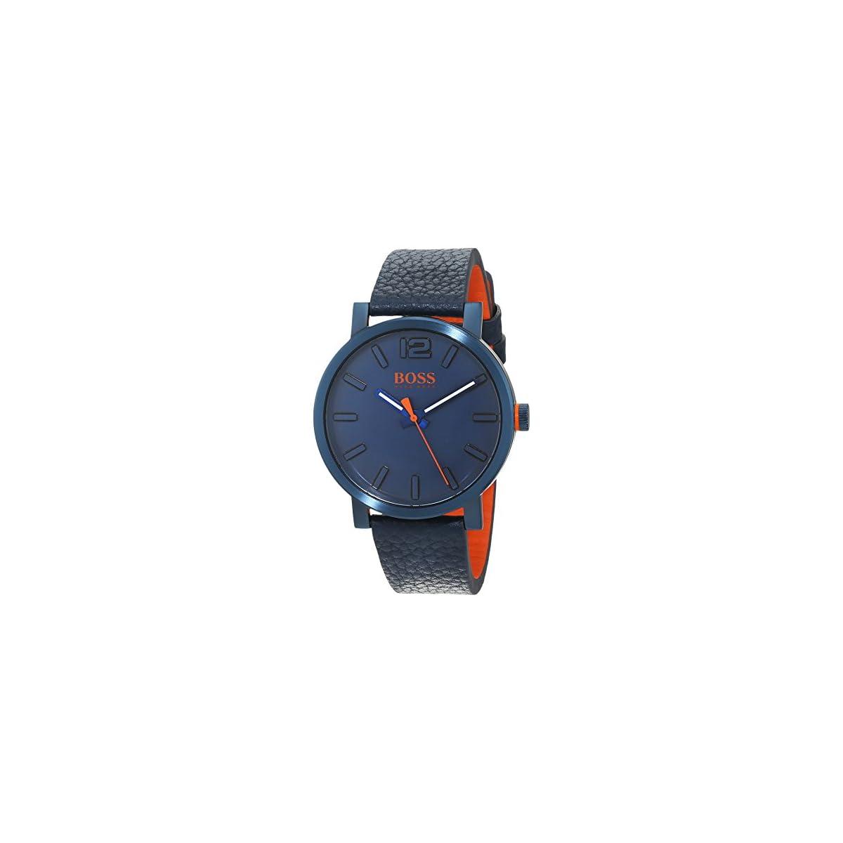 41ntRRgxRqL. SS1200  - Hugo Boss Orange Reloj Análogo clásico para Hombre de Cuarzo con Correa en Cuero 1550039