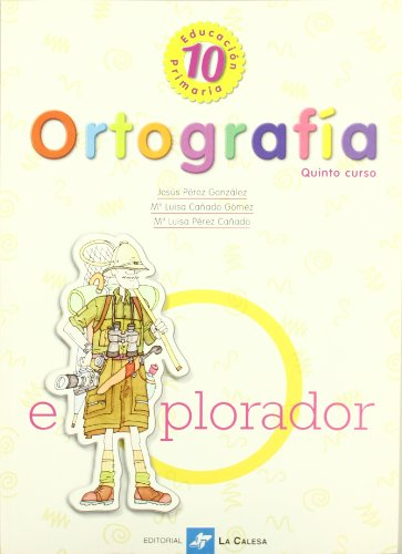 Ortografía 10º Educación Primaria, Quinto Curso - 9788481050943