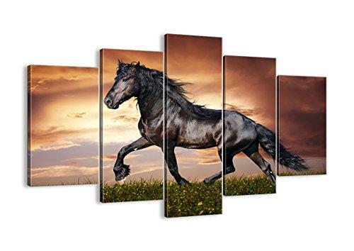 Cuadro sobre lienzo - 5 piezas - Impresión en lienzo - Ancho: 150cm, Altura: 100cm - Foto número 2608 - listo para colgar - en un marco - EA150x100-2608