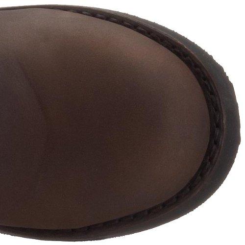 Buffalo, Stivali donna marrone scuro (Marrón)