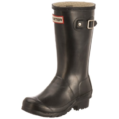 Hunters Original Kids W23500, Unisex-Kinder Gummistiefel, Schwarz (black), EU 30.5 (UK 12) (Kinder Original Hunter Stiefel)