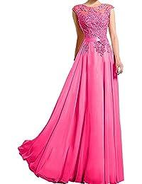 Charmant Damen Spitze Lang Abendkleider Ballkleider Brautmutterkleider  Promkleider A-Linie Abschlussballkleider 471dc70825