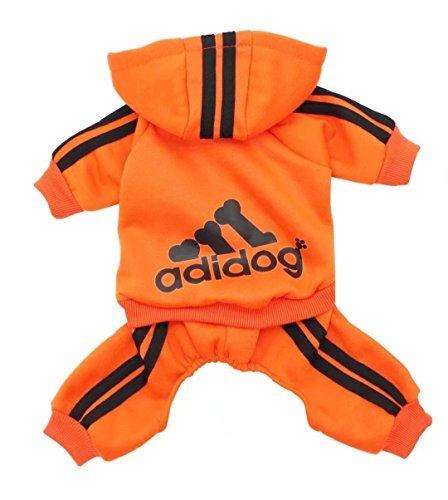 Scheppend Adidog PET Kleidung Hund Katze Jacke Pelz Herbst Sommer Pullover Sweatshirt warm Sweater