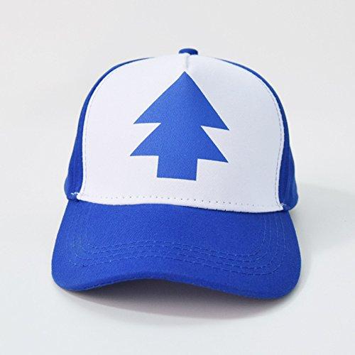 Preisvergleich Produktbild Hatrita-J Mode Gravitation fällt Baseball Cap BLUE PINE TREE hat Cartoon Trucker Snapback Cap neue Gebogene Bill erwachsenen Männern hat