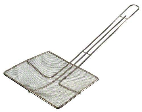 Update International (skm-sqf) 63/10,2cm vernickelt quadratisch Fine Mesh Skimmer Wire Mesh Skimmer