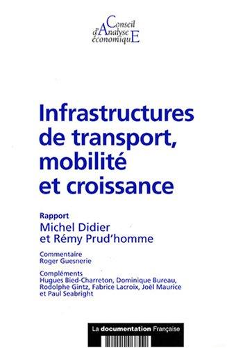 Infrastructures de transport, mobilit et croissance (CAE n.69)