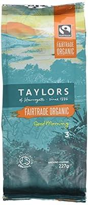 Taylors of Harrogate Organic Good Morning Ground Coffee 227 g (Pack of 3)