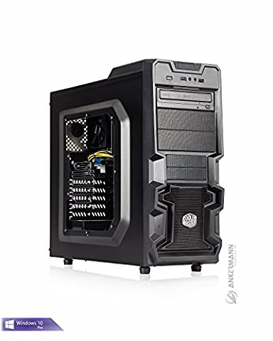Ankermann-PC Gaming Business PC VR Ready, AMD Athlon X4 880K 4x4,00GHz, MSI GeForce GTX 1060 6GB, 8GB RAM, 1TB HDD, Microsoft Windows 10 Professional, EAN 4260370250061