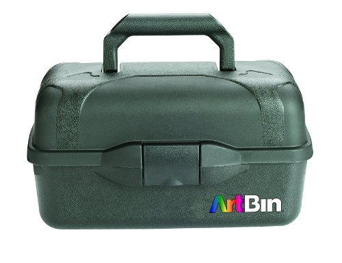 ArtBin Essentials-2 Tray Box - Black, 8627AB by ArtBin -