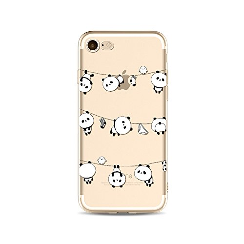 "CoqueiPhone 6S Plus Etui Housse,BoomTeck Coque Pour 5.5"" Apple iPhone 6S Pus/iPhone 6 Plus Silicone Souple Transparente Motif Clear Ultra Mince Anti Choc Anti-rayures Gel TPU Etui Protection Bumper C 15"