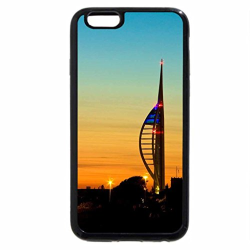iPhone 6S / iPhone 6 Case (Black) Spinnaker Tower at dusk
