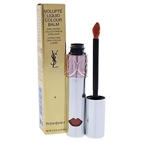 Yves Saint Laurent Volupté Liquid Colour Balm 04 Spy On Me Nude~1-Stück - Yves Saint Laurent Cosmetics Liquid