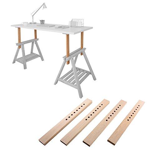 Astradea DIY Standing Desk Kit - Do-It-Yourself Umbausatz für Stehschreibtisch/Stehtisch/Stehpult (Do It Yourself-schreibtisch)