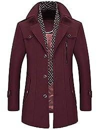 Amazon.it  Viola - Giacche e cappotti   Uomo  Abbigliamento 3d79585c081
